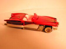 loose mint Hotwheels 1998 Treasure Hunt #7 STREET BEAST red & white