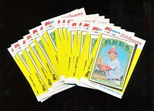 1982 Topps K-Mart  #22 1972 Johnny Bench 23 Card Lot Nice!