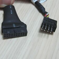 host case mainboard USB 3.0 20pin female to usb 2.0 9pin male converter cable