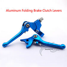 Handle Clutch Brake Lever Blue For Dirt Pit Bike Chinese XR CRF 50 KLX TTR SSR