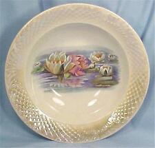 Antique Water Lily Porcelain Bowl Limoges China Serving
