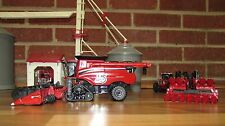 1/64 Ertl Case IH 175th 2017 Farm Show Combine w/ Draper Head/Folding Corn Head