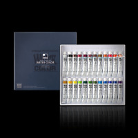 SHINHAN Professional Artist Grade Watercolor Paint Set 24 Colors 7.5ml Tube