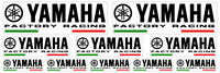 FE KIT 10 AUFKLEBER YAMAHA TMAX FACTORY RACING MOTO STICKERS DECAL xmax r1 r1m
