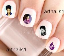 Prince Purple Rain Nail Art Nails Water Decals Stickers Salon Polish Manicure