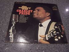 "Charley Pride ""The Country Way"" RCA VICTOR LP #LSP-3895 W/ORIG RCA INNER SLEEVE"