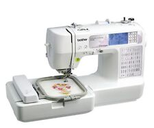 Sewing Machine Computerized Embroidery Machine USB Port Craft Serger Combo Gift
