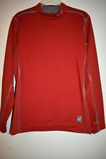 Nike Pro Combat Hyperwarm Dri-Fit red athletic top shirt M