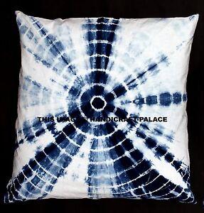 "26"" Indian Tie Dye Cushion Cover Ethnic Bed Throw Mandala Pillow Case Decor Art"