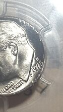 1975 P Roosevelt dime  PCGS MS65 error placed in slab with post mint DAMAGE lot