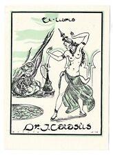 JUAN VICENTE BOTELLA FERRÁNDIZ: erotisches Exlibris für Dr. J. Catasius