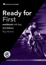 Ready for First (FCE) (3rd Edition) Workbook with Key & Audio CD by Roy...