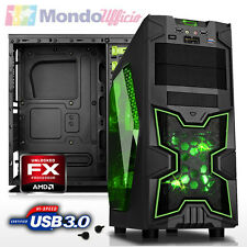 PC Computer Desktop AM3+ AMD FX 8350 4,00 Ghz 8 Core - Ram 8 GB - USB 3.0