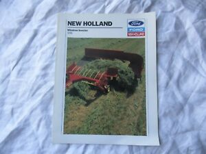 Ford New Holland 16 windrow inverter brochure
