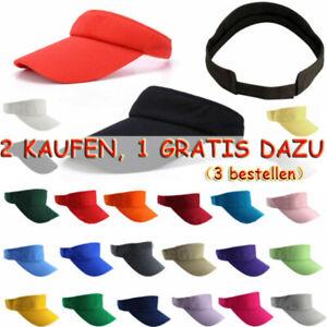 Unisex Basecap Sonnenhut Sunvisor Hüte Mützen Sonnenschutz Stirnband Kappe Hut'
