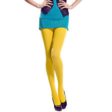 Winter NEW Womens Ladies Colorful Tights Semi Opaque Party Pantyhose