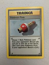 Pokemon Flute 86/102 Base Set NM/LP