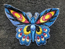 More details for large embroidered butterfly patch