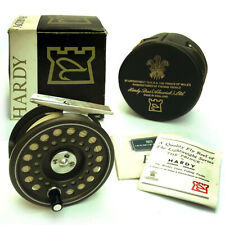 "A FINE HARDY THE PRINCE 5/6 (3"") FLY FISHING REEL COMPLETE WITH BOX AND CASE"