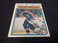 1982-83 OPC O-Pee-Chee #107 Wayne Gretzky In Action 4th year Oilers - nrmtmt