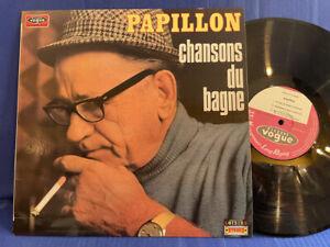 PAPILLON CHANSONS BAGNE CLVLX 443 ORIGINAL FRANCE LP NEAR MINT