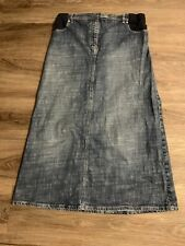 Next Maternity Denim Skirt Size 14
