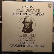 HAYDN CONCERTI PER VIOLINO, S ACCARDO ENGLISH CHAMBER ORCHESTRA 2 VINYL LP