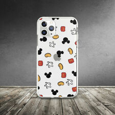 Mickey Mouse Disney Pattern Case For iPhone SE XR 11 Pro Xs Max X 8 7 6 6s Plus