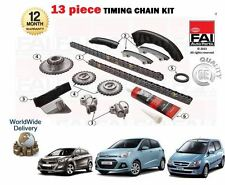 FOR HYUNDAI GETZ i10 i30 MATRIX 1.5 CRDI D4FA NEW TIMING CAM CHAIN KIT + GEARS
