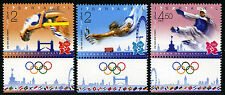 Israel 1940-1942 tabs, MNH. Summer Olympics, London, 2012