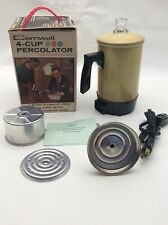 Cornwall 4 Cup Percolator Instant Hot Water Heater Coffee Tea Soup Home Office V