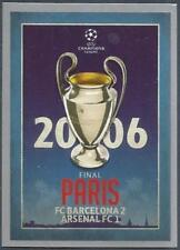 TOPPS CHAMPIONS LEAGUE-2015-16 #598-FINAL 2006 PARIS-BARCELONA 2 ARSENAL 1