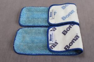 Bona Microfiber Cleaning Pads x2 for Spray Mop Washable Microfibre