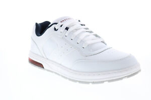 Skechers Evenston Rudge 210147 Mens White Lifestyle Sneakers Shoes
