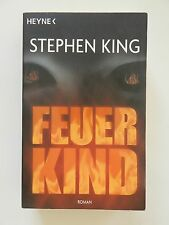 Stephen Kind Feuerkind Roman Horror Heyne Verlag Buch