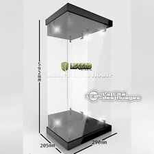 Legend Studio Master Light House Display Case 02 Black 1/4 Vitrine Hot Toys LED