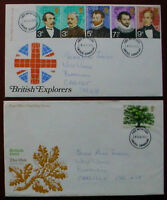 GREAT BRITAIN: QE II: : COLLECTION OF 4  FIRST DAY COVERS: LOT 6