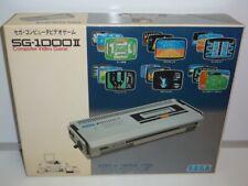 CONSOLE SEGA SG 1000 II SYSTEM NTSC JAPAN BOXED USED TESTED BOXED RARE