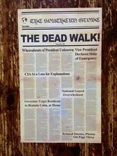 Day of the Dead - Replica Newspaper Halloween Prop - A3 poster - Romero