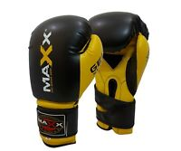 Boxing Gloves Punch Bag Training MMA Muay Thai KickBoxing Fight Sparring Tri BY