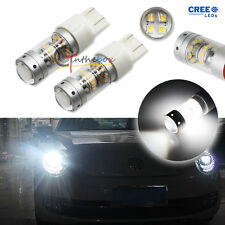 2pcs Can-bus Xenon White LED Daytime DRL Lights Bulbs for VW B7 Passat Beetle