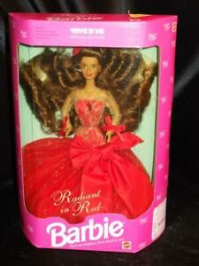 1992 RADIANT IN RED Barbie Doll Toys 'R' Us Beautiful Long Red Hair  #4113 NRFB