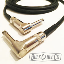 MOGAMI 2524 - 8' GUITAR CABLE - SWITCHCRAFT RIGHT ANGLE TO RIGHT ANGLE 226 PLUGS