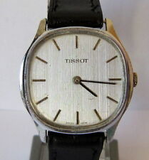 VINTAGE BEAUTIFUL *TISSOT* MECHANICAL SWISS MEN'S WATCH, SERVICED # 809