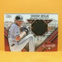 2015 Topps Update CHRIS SALE All-Star Stitches Relic Jersey White Red Sox