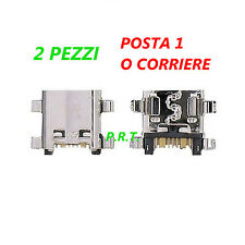CONNETTORE RICARICA (2pezzi MICRO USB PER SAMSUNG GALAXY ACE 4 TREND 2 SM-G313