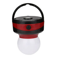 Magnetic Work Light Outdoor Camping Tent Lamp with Hook Battery Powered Lantern