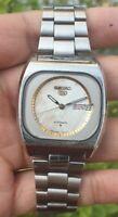 Vintage Seiko 5 Automatic Movement No 6309 Japan Made Men's Watch
