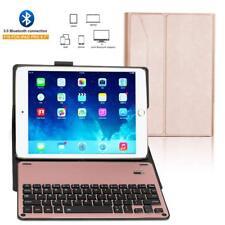 NUOVO iPad 9.7'' 2017 2018 Wireless Bluetooth Tastiera Case Ultra Slim Smart Cover