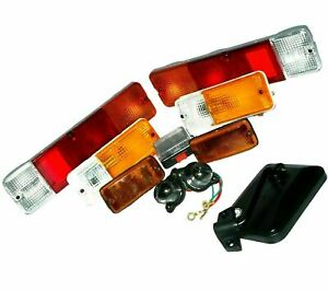 Complete Light Set + RH Rear View Mirror Suzuki Samurai Sierra Drover SJ410